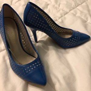 Like new blue high heels